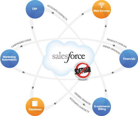 Application Graphic Salesforce