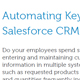 Automating Key Business Processes with NetSuite ERP & Salesforce CRM