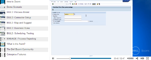 SAP-to-EDI product tour from Dell Boomi